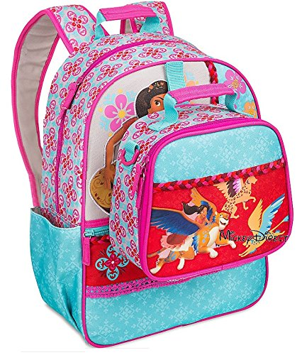 Disney Store Elena of Avalor Backpack & Lunch Bag Set
