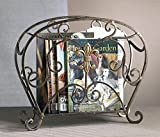 Magazine Rack - Fleur De Lis Magazine Rack - Magazine Holder