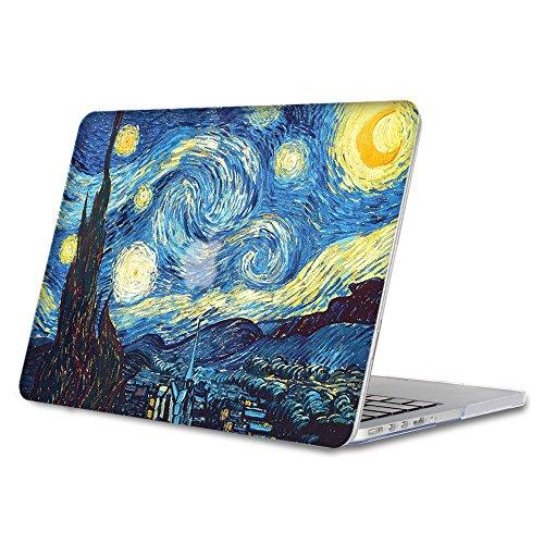 Fintie Coque MacBook Pro 13 Retina - Haute Qualité Plastique Transparent Dur étui Housse pour Apple MacBook Pro 13.3 Pouces avec Retina Display A1502 ...