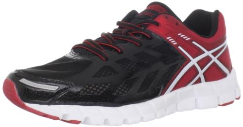 ASICS Men's GEL-Lyte33 Running Shoe,Onyx/White/Flame,11 M US