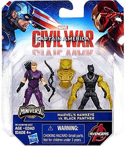Marvel Captain America: Civil War Marvel's Hawkeye v. Black Panther