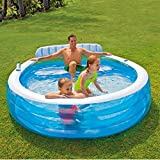 Intex Swim Center Inflatable Family Lounge Pool, 88