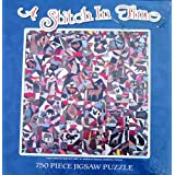 A Stitch In Time 750 Piece Jigsaw Puzzle Image Is From The Shelburne Museum Vermont Of The Crazy Patchwork Quilt...