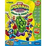 VTech V.Smile Smartbook - Marvel Spider-Man and Friends: Where's the Hulk? (Software Cartr...