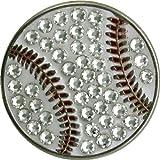 Bella Baseball USA Crystal Hat Clip Set (1.1-Inch)