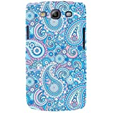 For Samsung Galaxy S3 I9300 :: Samsung I9305 Galaxy S III :: Samsung Galaxy S III LTE Paisley Semless Pattern ( Paisley Semless Pattern, Semless Paisley ) Printed Designer Back Case Cover By FashionCops