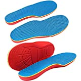 Memory Foam Shoe Insole Orthotic Arch Support Flat Foot Flatfoot Correction Foot Pain Relief For Children Kids