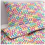 Ikea Stickat Duvet Cover And Pillowcase S Multicolor-Twin Size