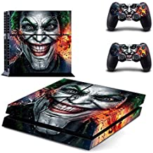 Elton Joker Theme 3M Skin Sticker Cover For PS4 Console And Controllers
