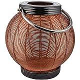 NI Décor Metal Decorative Lanterns Without Bulb- 24 Cm X 24 Cm X 25 Cm, Bronze