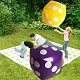 Generic Hot Selling Inflatable Multi Color Dice Stage Props Children Birthday Party Favors Kids Outdoor Game Play...