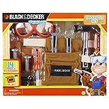 Black & Decker Junior 14 Piece Toy Tool Belt Set