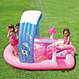 "Intex Hello Kitty Inflatable Play Center 83"" X 64"" X 47.5"" Or 2.11m X 1.63m X 1.30m For Kids Ages 2+"