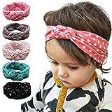 FEITONG(TM) 2015 Fashion Lovely Dot Cross Children Weave Twist Headband Baby Girls Hair Accessories