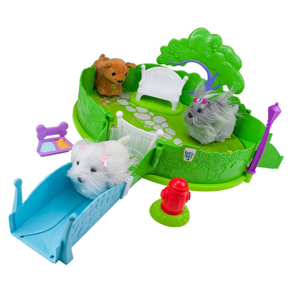 Monster High Ebay >> ZHU ZHU Pets Puppies PUPPY BARK PARK PLAYSET Collection 877799006984 | eBay