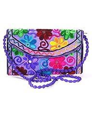 Arisha Kreation Co Women Hand Bag (Purple)