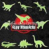 Alcoa Prime 9pcs/pack Glow In The Dark Fluorescent Decal Baby Kids Children Nursery Room Home Wall Luminous Decoration...