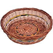 KEE Wicker Basket (12 Cm X 20 Cm X 18 Cm, Brown)