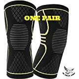Compression Knee Sleeve For Arthritis-Joint Pain Relief Brace-Sports Athletic Running Support-Improves Circulation...