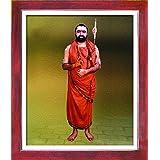 1503-Kanchi Shri Vijayendra Saraswathi Swamigal-Teak (35.5x43)