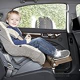 [KneeGuardKids2] Car Seat Footrest, Booster Seat Footrest (Grey)