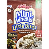 Kellogg's, Frosted Mini Wheats, Chocolate, Little Bites Cereal, 15.2oz Box (Pack Of 4)
