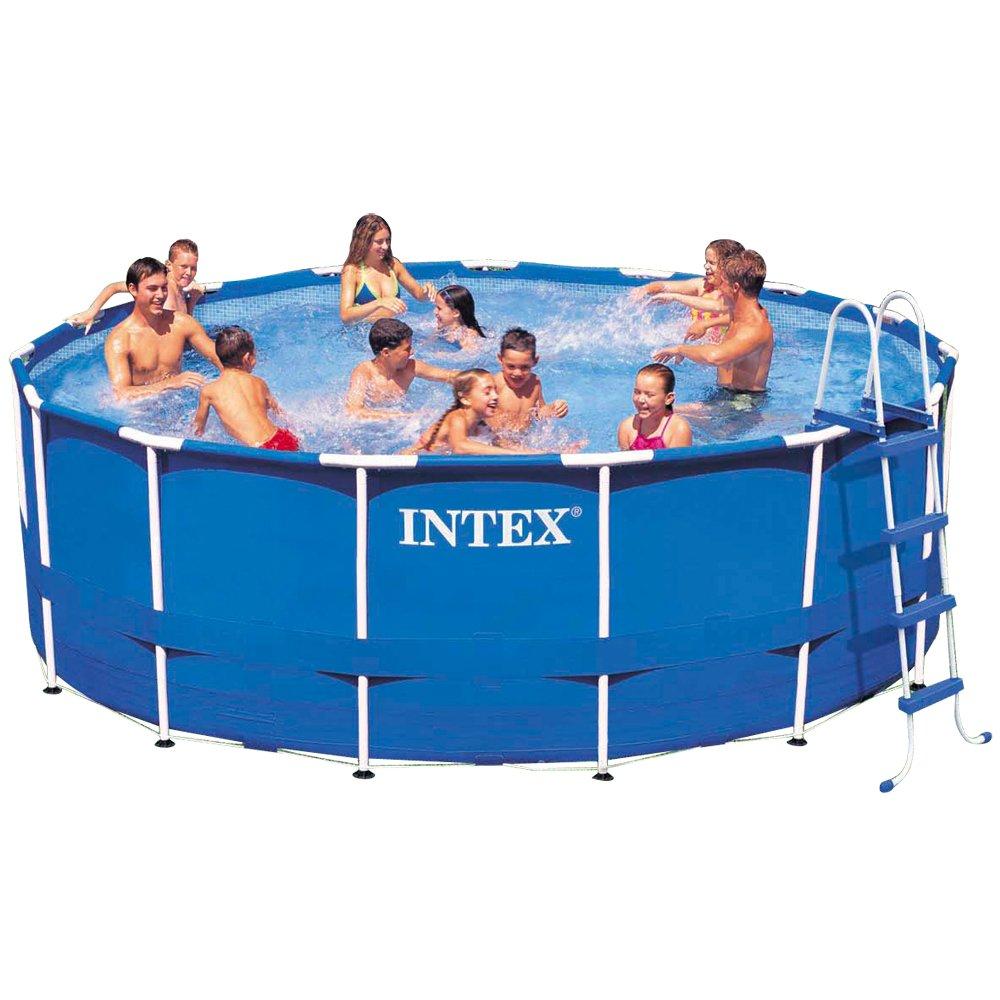 Intex 15ft X 48in Metal Frame Pool Set Review