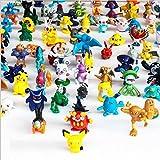 OliaDesign Pokemon Pikachu Monster Mini Action Figures Toy (Lot of 24 Piece), 1