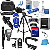 The Ultimate Professional Camera Accessories Kit Bundle Includes 60 Tripod Tripod Bag Digital Slave Flash Gadget...