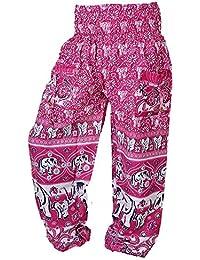 Women Fashion Loose High Waist Wide Leg Long Pants Palazzo Trousers - B071H3PMZ6
