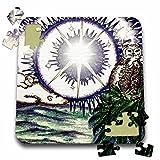 Cindy Thorrington Haggerty Earth Animals Spirits - Save The Midnight Magic - 10x10 Inch Puzzle (pzl_3605_2)