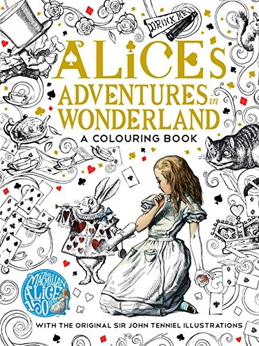 Alice in Wonderland colouring book - a great Christmas gift!