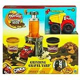 Play-Doh Diggin' Rigs Tonka Chuck 'N Friends Grinding Gravel Yard Set