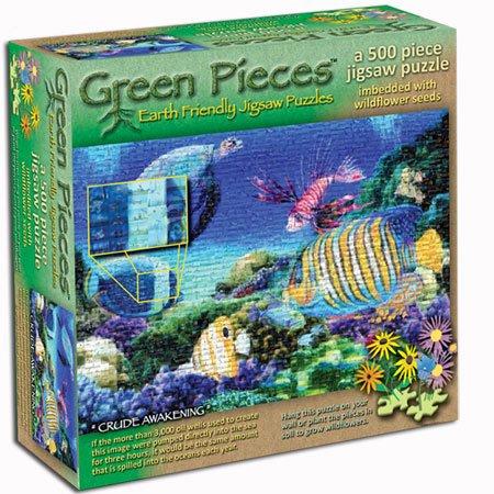 Green Piece Puzzle - Crude Awakening