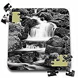 Danita Delimont - Waterfall - USA, Oregon, Three Sisters Wilderness Area. Cascade at Proxy Falls. - 10x10 Inch Puzzle (pzl_231473_2)