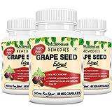 Morpheme Grape Seed Extract 500mg Extract 60 Veg Caps - Buy 2 Get 1 Free