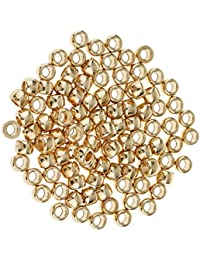 Segolike 100 Pieces Spacer Beads Fit Bodhi Bead String Charm Bracelet Chain 6mm