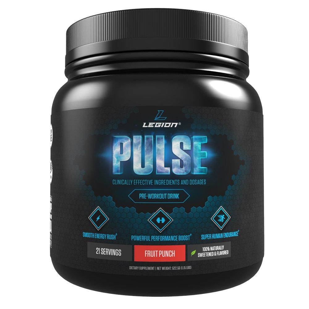 legion athletics pulse pre workout supplement