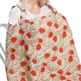 Baby Breast Feeding Nursing Cover Soft Organic Cotton Breathable Canopy Blanket