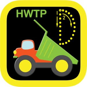 ABC Vehicles Kids Letter Tracing HWTP