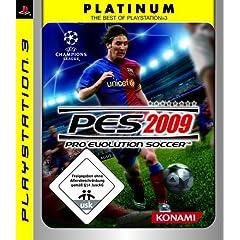 Bei amazon: PES2009 [PC, XBOX360, PS3] für wenig Geld !