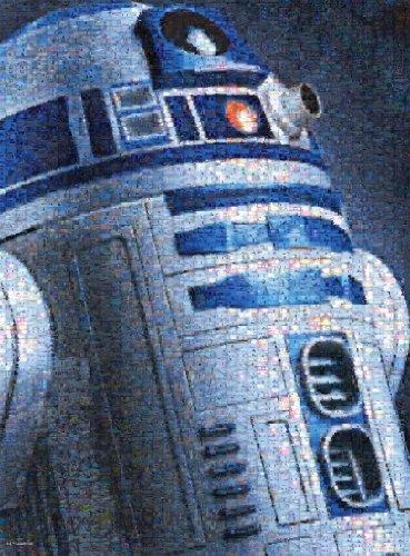 Buffalo Games Star Wars Photomosaic: R2-D2 - Jigsaw Puzzle (1000-Piece)