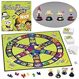 Click to buy Trivial Pursuit For Kids Nickelodeon Edition from Amazon!