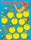 Paper Magic Eureka Dr. Seuss If I Ran The Circus Birthday Chart 17