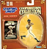 1998 - Kenner - Starting Lineup - MLB - Cooperstown Collection - Buck Leonard #32 - Grays - Vintage Action Figure - w/ Trading Card - w/ Trading Card - Limited Edition - Collectible