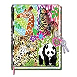 Hot Focus Magic Safari Diary With Lock In A Sealed PVC Package