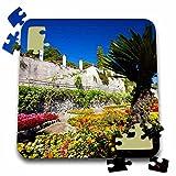 Danita Delimont - Gardens - Italy, Amalfi Coast, Ravello, Villa Rufolo Garden - EU16 TEG0510 - Terry Eggers - 10x10 Inch Puzzle (pzl_138319_2)