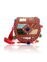 Rajasthani Ethnic Style Handmade Mirror Work 114