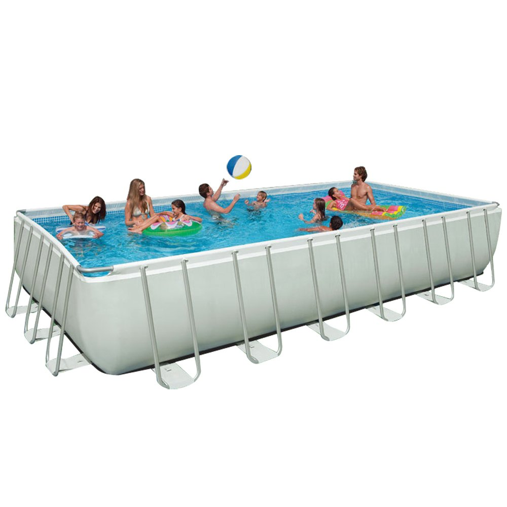Intex 24Ft X 12Ft X 52In Ultra Frame Pool Set Review