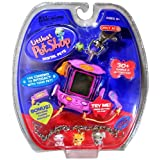 Hasbro Year 2006 Littlest Pet Shop Digital Pets Series Virtual Game - Blue BIRD Digital Game With Charms To Interact...